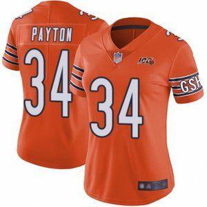 Women Bears Walter Payton 100th Season Jersey (4)